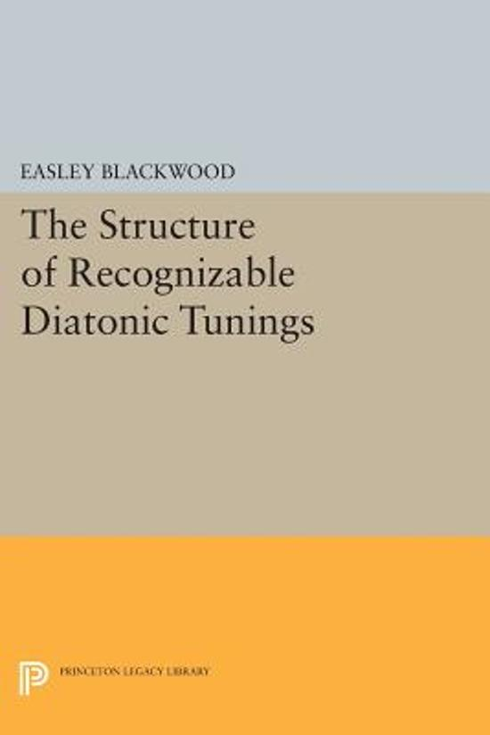 The Structure of Recognizable Diatonic Tunings