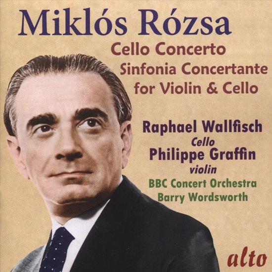 Miklos Rozsa: Cello Concerto/Sinfonia Concertante