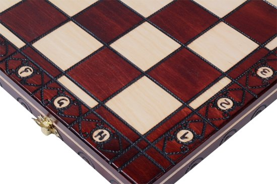 schaakcassette 48x48cm (koningshoogte 95mm)