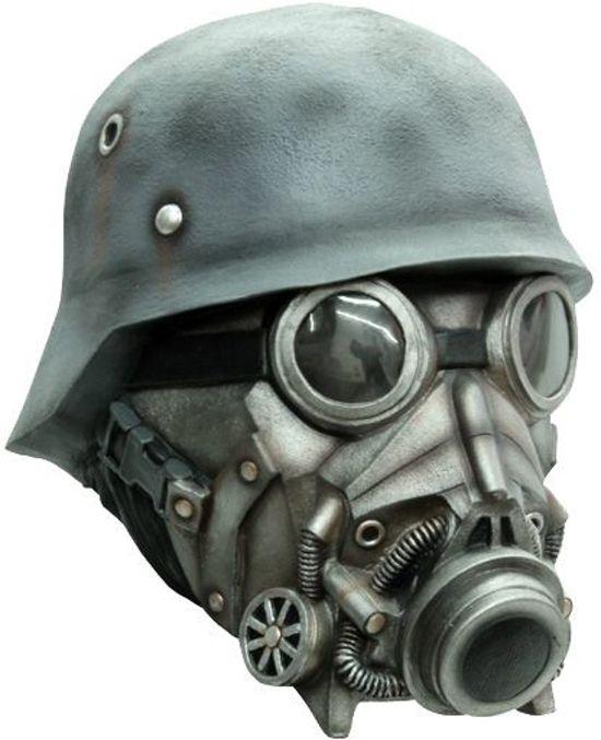 Masker soldaat gasmasker