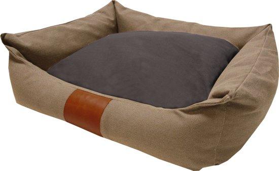 Frankie Canvas Lock - Hondenmand - Zand - L: Binnenmaat ± 65 x 45 cm