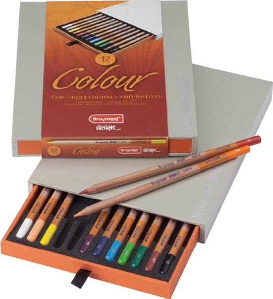 Bruynzeel Design box 12 kleurpotloden