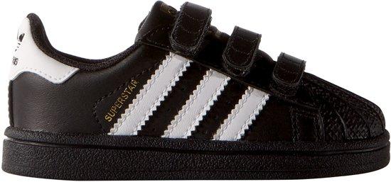 5a6b8b94ac3 bol.com | Adidas Jongens Sneakers Superstar Cf - Zwart - Maat 22