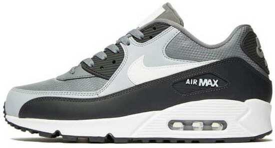huge discount ea52e 08150 Nike Air Max 90 Essential 537384-098 Grijs Zwart - Maat 40,5