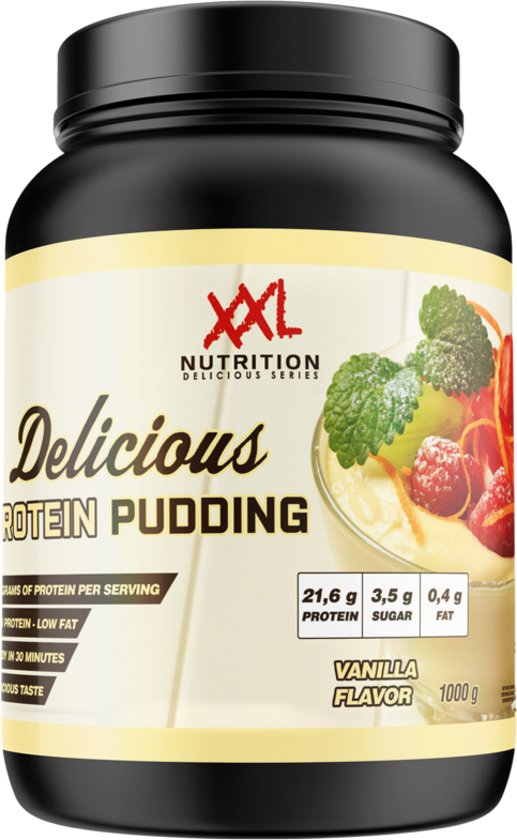 Delicious Protein Pudding - 1000 gram - Vanille