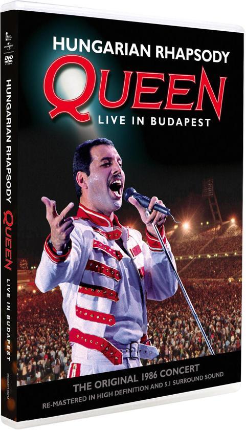 CD cover van Hungarian Rhapsody - Queen Live In Budapest van Queen