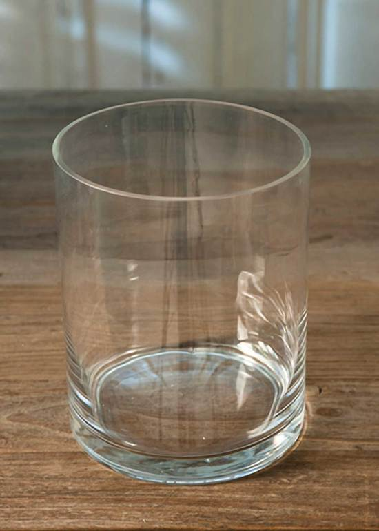 Riviera Maison Cilinder Glass Lumiere Ratt. Jardin- Diverse Kaarsen Houders