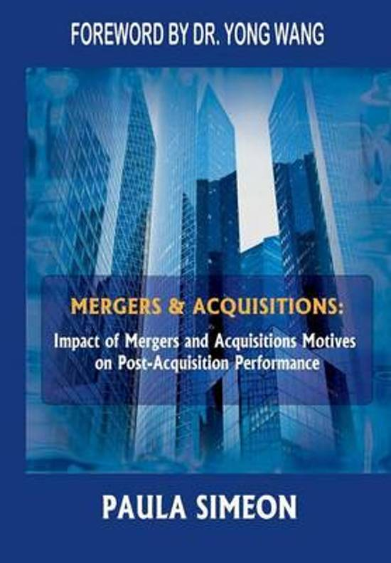 "the impact of mergers and acquisitions In his research, cassiman found that the impact of mergers and acquisitions (""m&a"") on ""r&d&i"" (research and development plus innovation) depends on the technological similarities that exist between the companies involved in a particular merger or acquisition, and on the similarities between the markets they are active in."