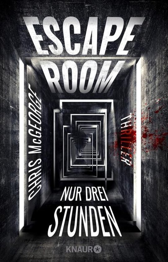 Boek cover Escape Room - Nur drei Stunden van Chris McGeorge (Onbekend)