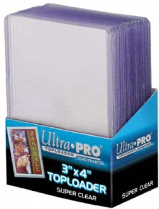 "Toploader - 3"" x 4"" Super Clear Premium (25 pieces)"