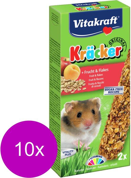 Vitakraft Hamster Kracker Fruit 2 in 1 - 10 stuks