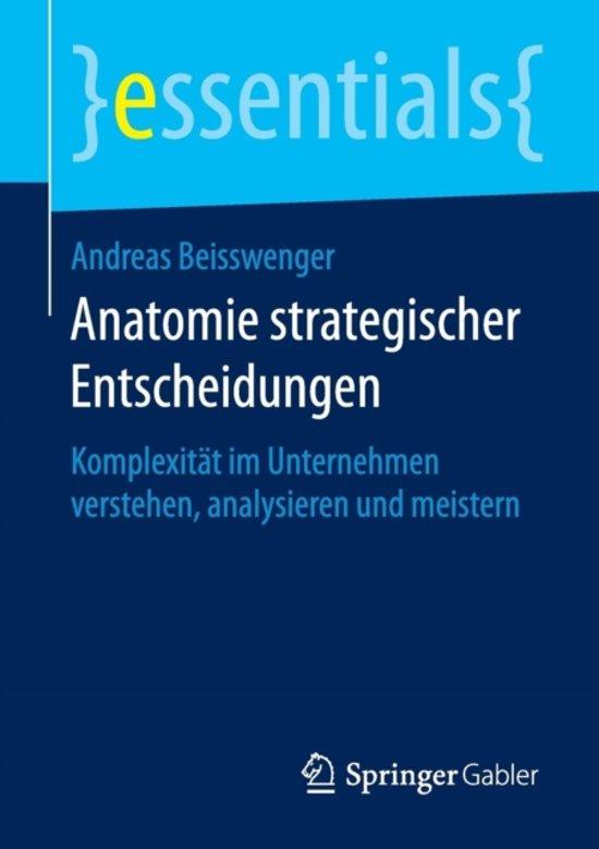bol.com | Anatomie Strategischer Entscheidungen, Andreas Beisswenger ...