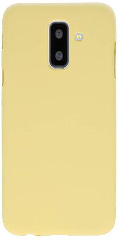 Wicked Narwal | Color TPU Hoesje voor Samsung Samsung Galaxy A6 Plus Geel