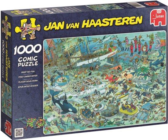 Jan van Haasteren Onderwater Wereld - Puzzel - 1000 stukjes