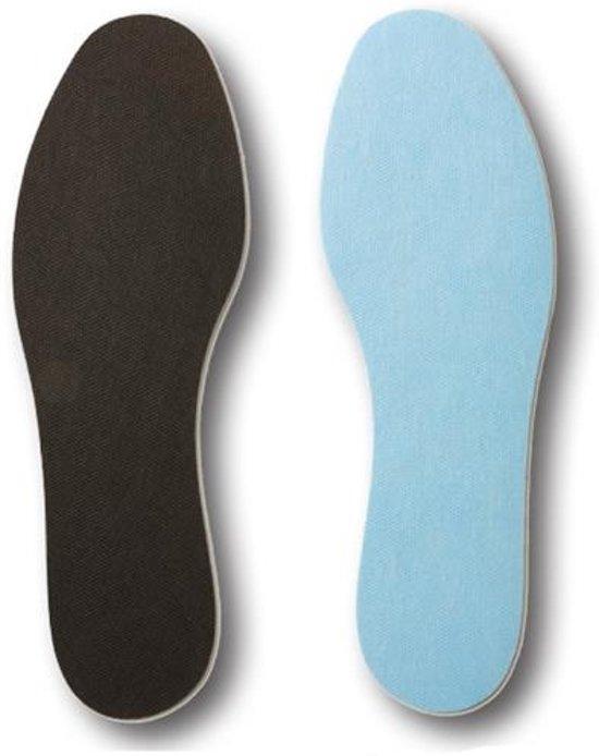 Bama Inlegzool Fresh Ins Heren Zwart/blauw Maat 42/43