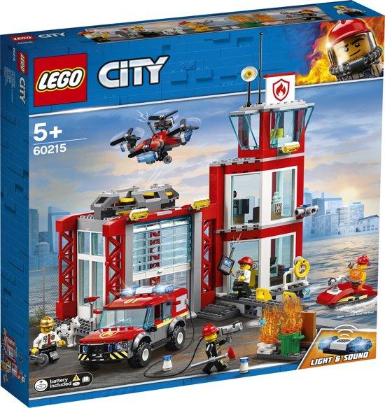 Afbeelding van LEGO City Brandweerkazerne - 60215 speelgoed