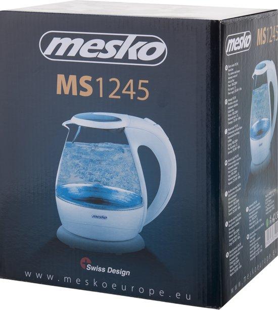 Mesko MS 1245 - Waterkoker - Led verlichting - 1.5 L