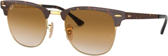 03cf6a1f231 Ray-Ban Gold-coloured Top Havana Zonnebril 0RB3716 900851 51 - Tortoise