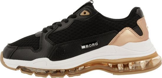 Bjorn Borg X500 Msh W Sneakers Zwart - Maat 38 4qlXsVFX