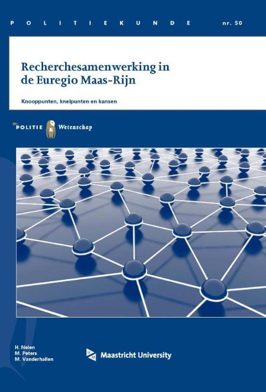Politiekunde 50 - Recherchesamenwerking in de Euregio Maas-Rijn