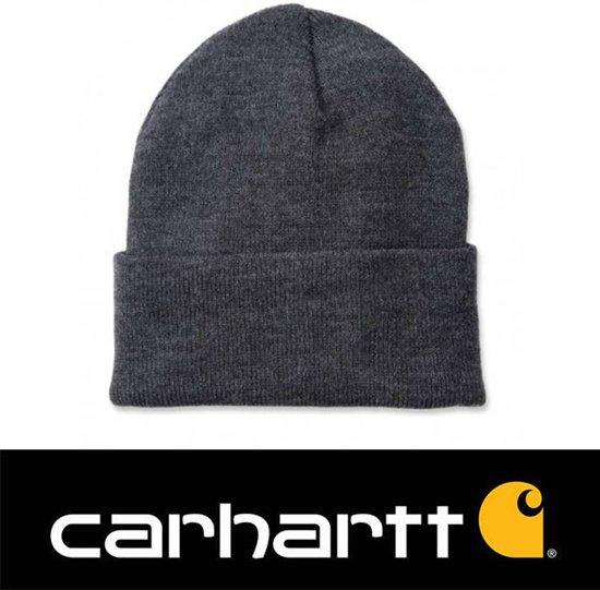9c0ef02b35e Carhartt Muts Acrylic Watch Hat Coal Heather grijs - Beanie