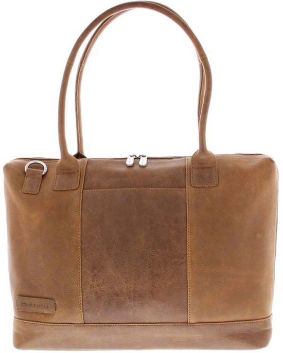 Cognac 6 15 Dames Laptoptas Leather Plevier Crunch nRqxwzUYv