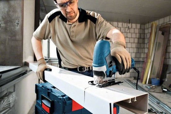Bosch Professional GST 90 E Decoupeerzaag - 650 Watt - Met 1 decoupeerzaagblad en opbergkoffer