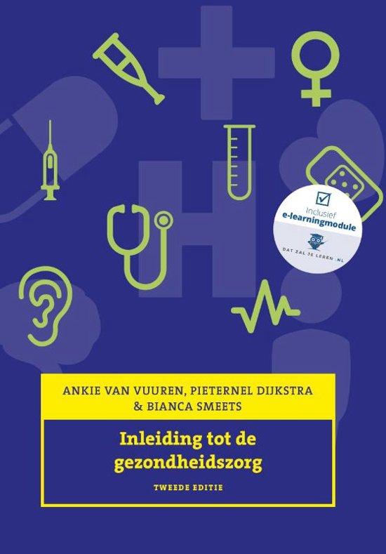 Boek cover Inleiding tot de gezondheidszorg van Pieternel Dijkstra (Paperback)