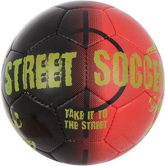 Derbystar Streetsoccer Zwart-Rood