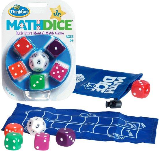 Afbeelding van het spel Math Dice Junior - Breinbreker