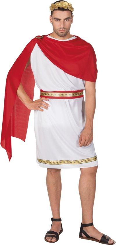 4 stuks: Volwassenenkostuum Caesar - Medium-Large