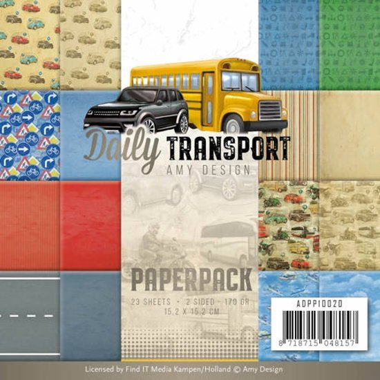 Papierpak - Amy Design - Daily Transport