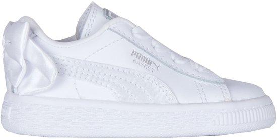 3f356031b87 bol.com | Puma Sneakers - Maat 21 - Meisjes - wit