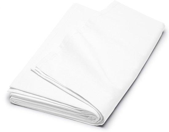 Cinderella Basic - Percaline katoen - Laken - Lits-jumeaux - 240x260 cm - White
