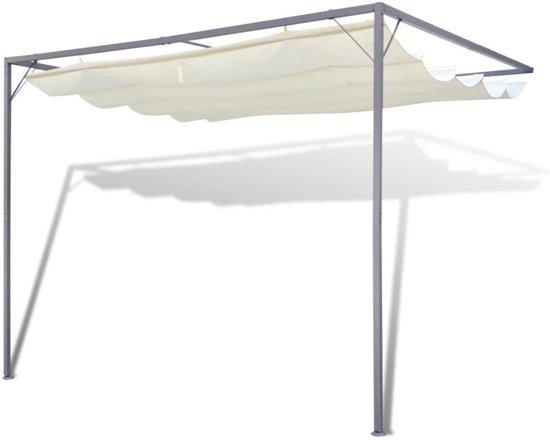 vidaXL - Partytent/Muurpaviljoen Spineda 3 x 3 m - met uitschuifbaar dak