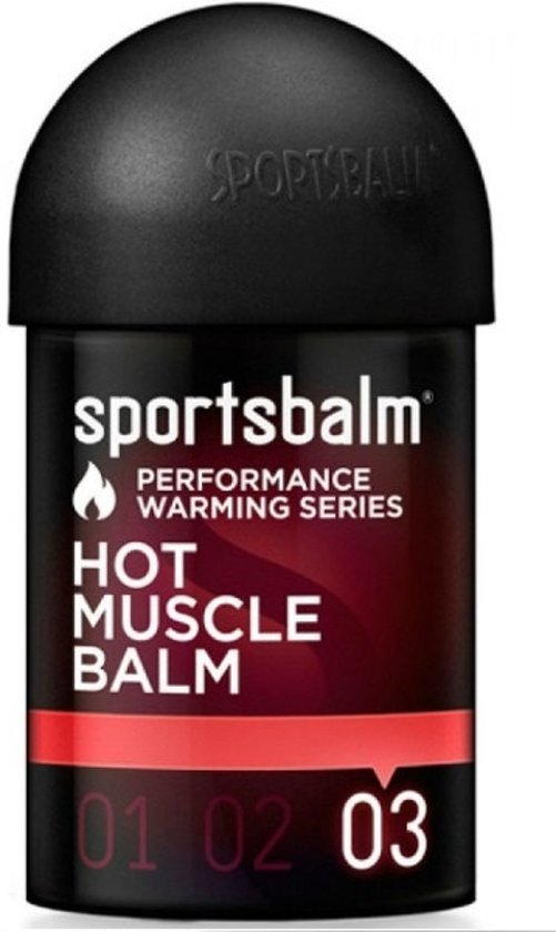 Sportsbalm Spierverwarmer Hot Muscle Balm 150ml Per Stuk