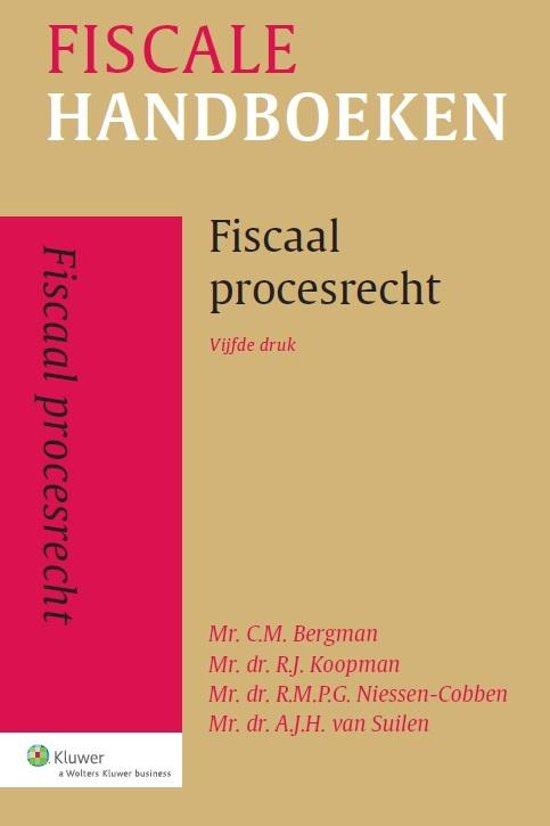 Fiscale hand en studieboeken Fiscaal procesrecht