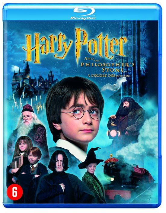 DVD cover van Harry Potter En De Steen Der Wijzen (Blu-ray)