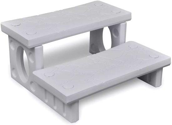 vidaXL Spa trap (wit)