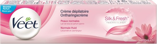 Veet Ontharingscrème Silk & Fresh Normale Huid- 200 ml