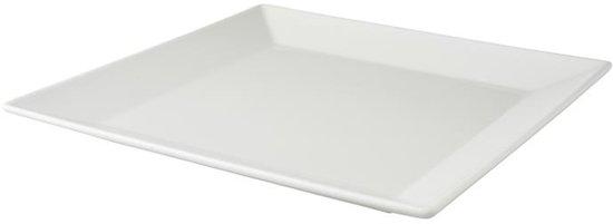 Palmer White Delight Dinerbord 27 x 27 cm - 6 st.