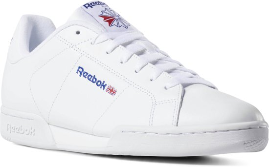 Reebok NPC II Sneakers Dames - White/White