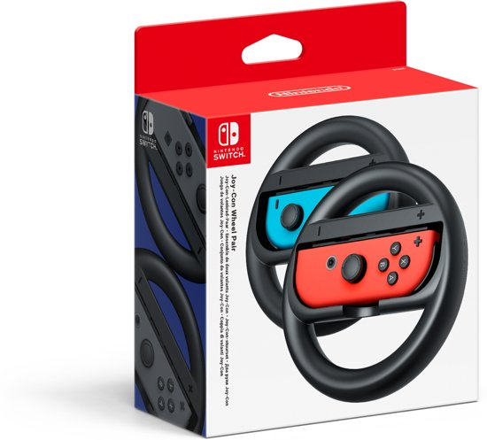 Cover van de game Joy-Con stuurset - Zwart - Nintendo Switch