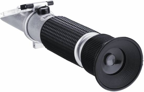 Refractometer Zout 0-10% zoutgehalte meting zeewater, zeeaquarium, keuken, pekel...