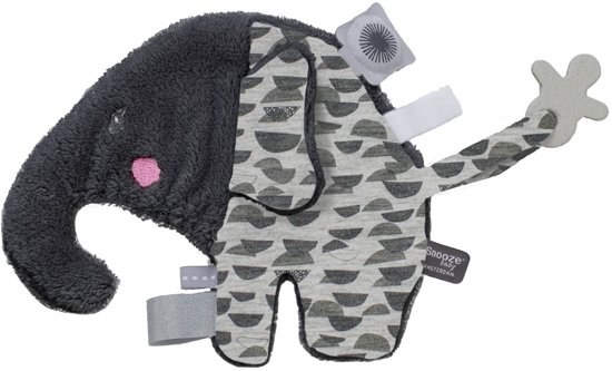 Speenknuffel Elly Elephant Lovely Grey