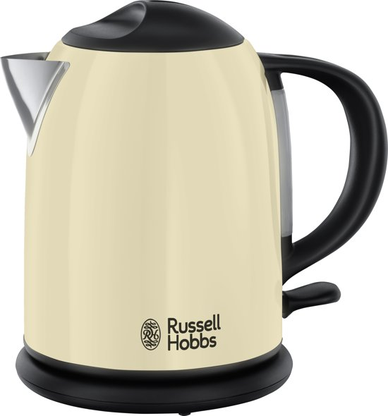 Russell Hobbs 20194-70 Colours Plus+ Compact - Waterkoker - Creme