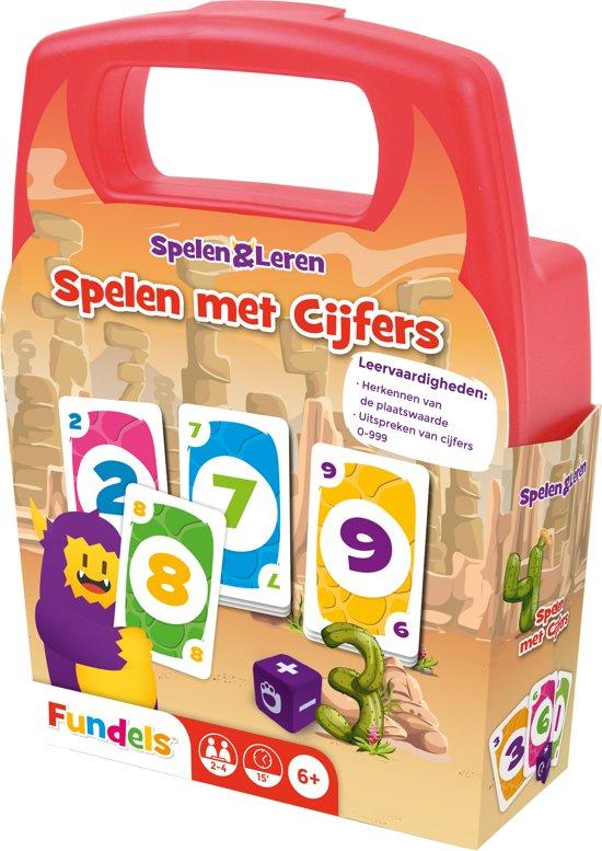 Afbeelding van het spel Fundels Spelen met Cijfers - Educatief kaartpel