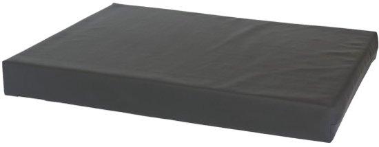 Comfort Kussen Hondenkussen Orthopedisch leatherlook 80 x 55 cm - Antraciet