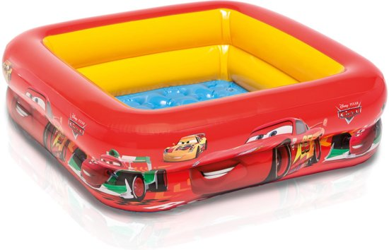 Intex Cars Zwembad 85 x 85 cm