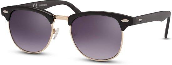f81dba573122b3 Cheapass Zonnebrillen - Clubmaster zonnebril - Goedkope zonnebril - Zwart